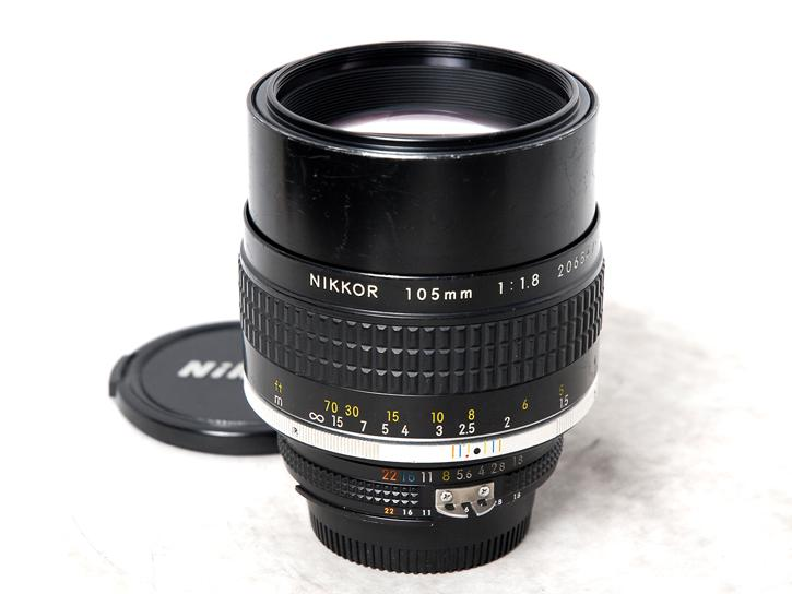 Ai Nikkor 105mm F1.8S