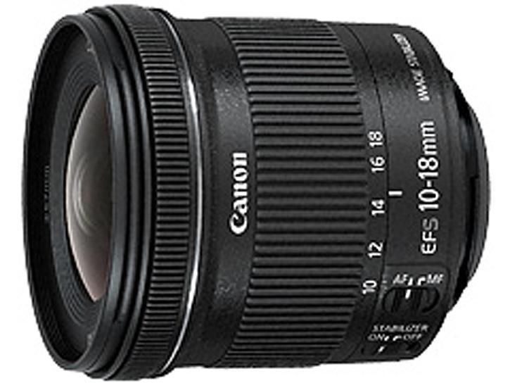 EF-S10-18mm F4.5-5.6 IS STM 新品