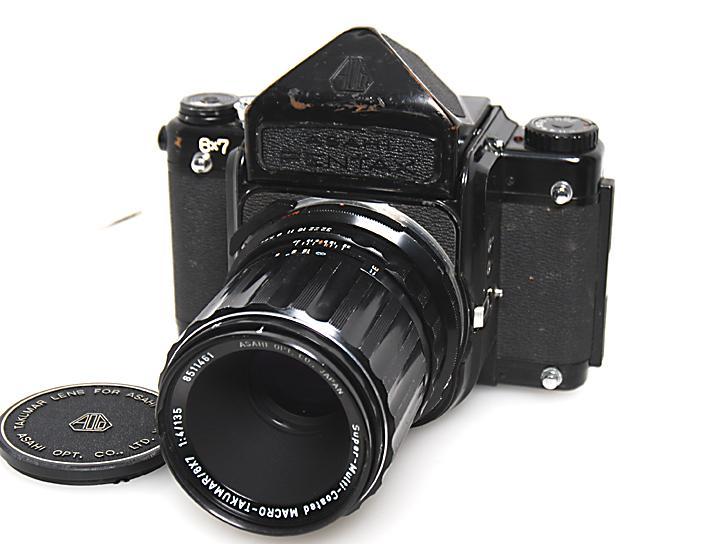 6×7 アイレベル(難あり)SMCT6×7 135mm F4マクロ付