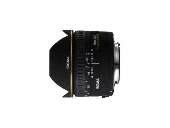15mm F2.8 EX DG DIAGONAL FISHEYE (キヤノン AF) 新品