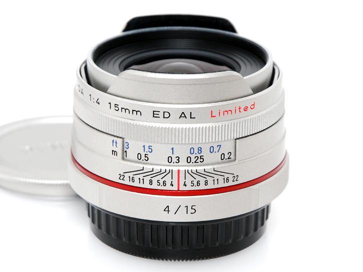 HD PENTAX-DA 15mmF4ED AL Limited [シルバー]