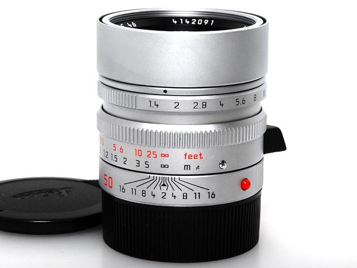 SUMMILUX-M 50 mm f/1.4 ASPH [シルバー] 6bit