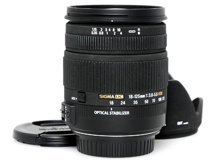 18-125mm F3.8-5.6DC OS HSM(キヤノンデジタル)