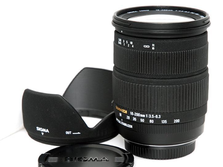 18-200mm F3.5-6.3 DC OS (シグマデジタル用)