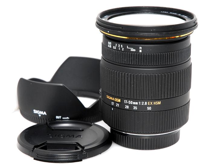 17-50mm F2.8 EX DC OS HSM (シグマデジタル用)