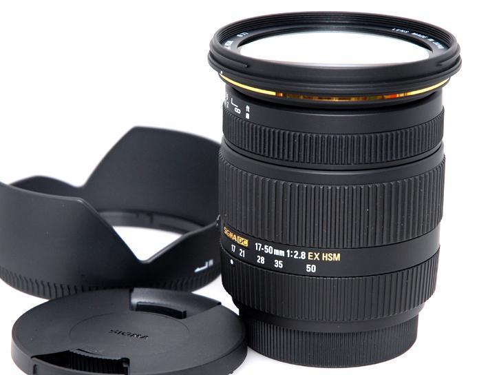 17-50mm F2.8 EX DC HSM (ソニーαデジタル)