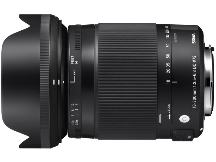 18-300mm F3.5-6.3 DC MACRO OS HSM Contemporary 【キヤノン】 新品