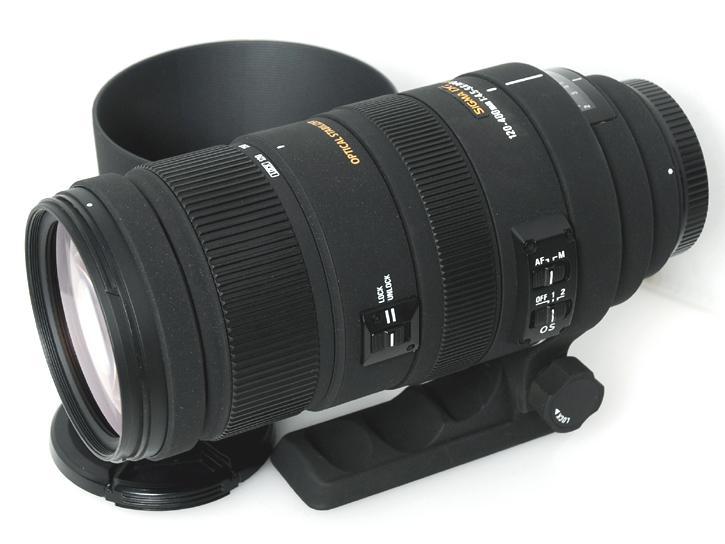 120-400mm F4.5-5.6DG OS HSM (キヤノンEFマウント)