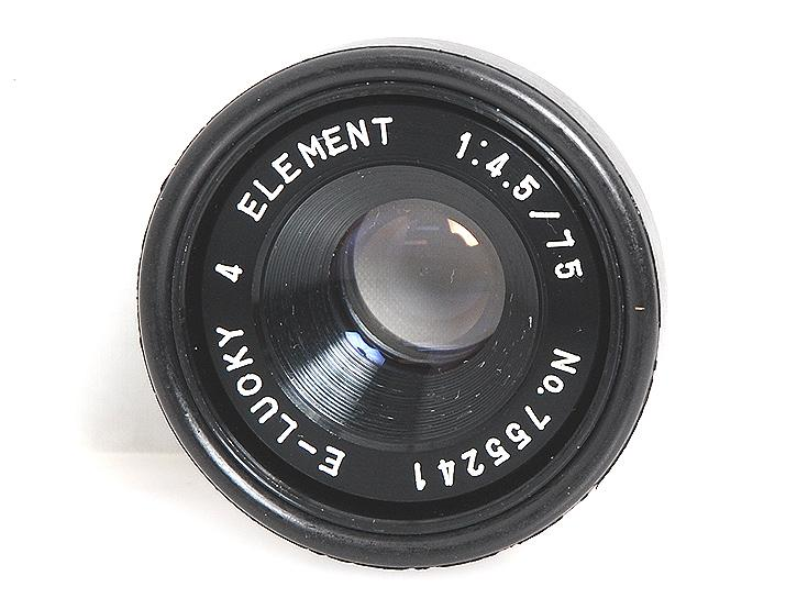 ELEMENT 75mm F4.5 ��L�������Y