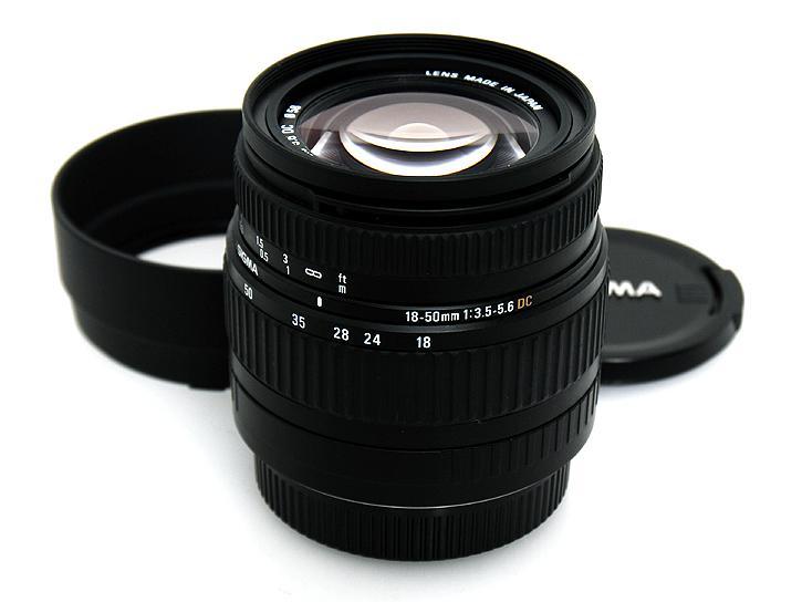 18-50mm F3.5-5.6DC(�V�O�}SA�}�E���g)
