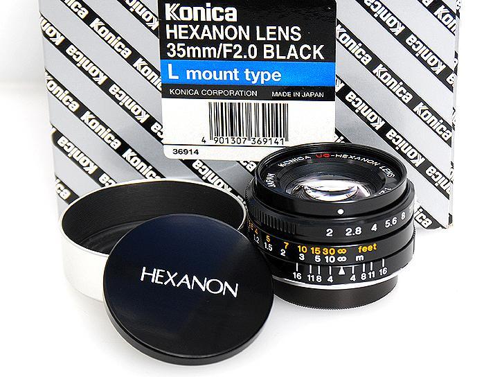 UC-HEXANON 35mm F2(ブラック)Lマウント  1,000本限定