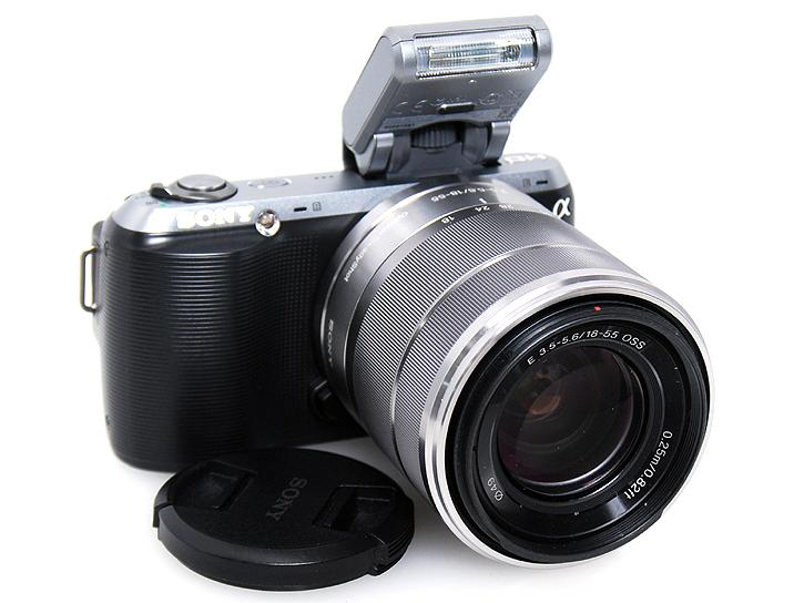 NEX-C3 �i�u���b�N�jE18-55mm F3.5-5.6OSS�t