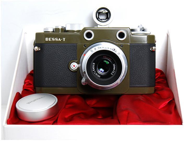 BESSA-T ヘリアー50mm F3.5[101周年オリーブ]