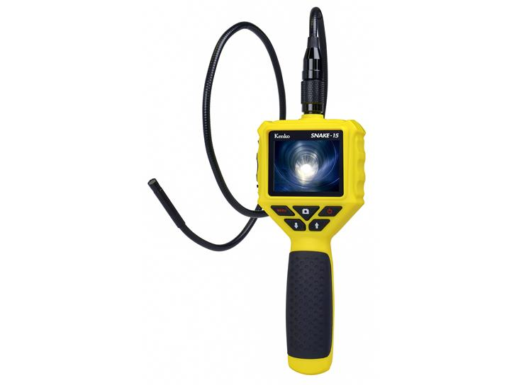 LEDライト付防水スネイクカメラ SNAKE-15 新品