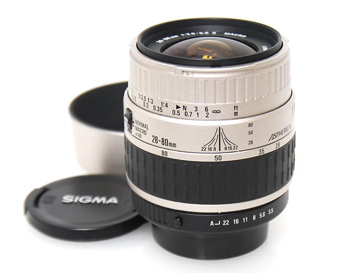 28-80mm F3.5-5.6�U�}�N�� (�y���^�b�N�X�}�E���g)
