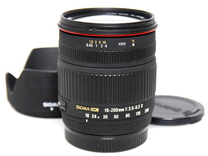 18-200mm F3.5-6.3DC (�\�j�[���}�E���g�f�W�^��)