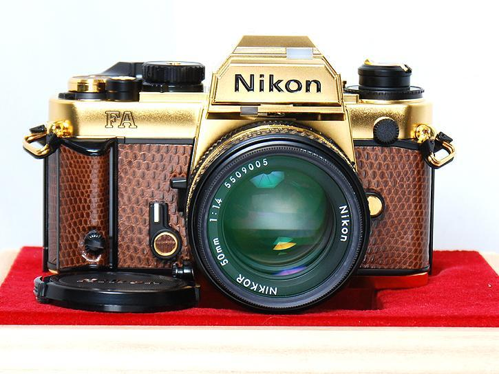 FA GOLD Ai50mm F1.4付