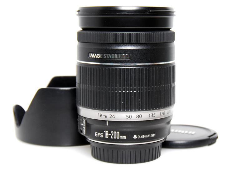 EF-S18-200mm F3.5-5.6 IS