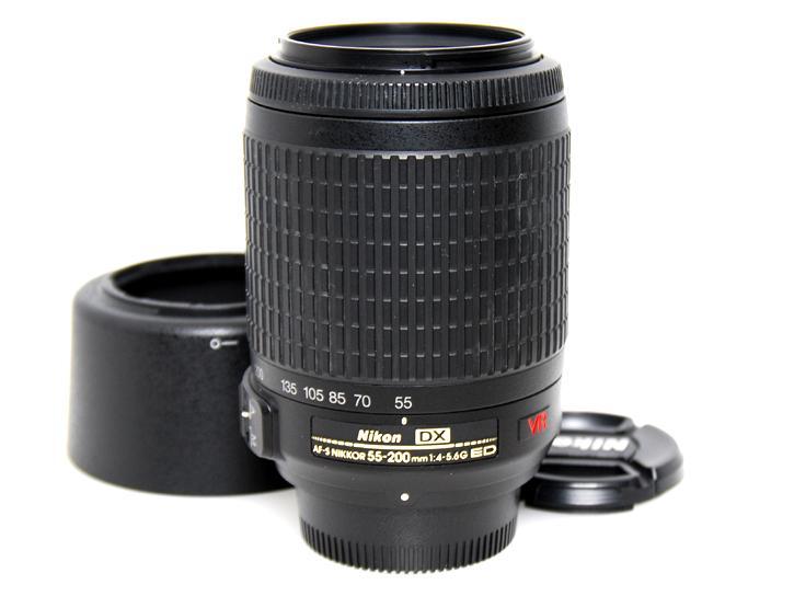 AF-S DX55-200mm F4-5.6G ED VR
