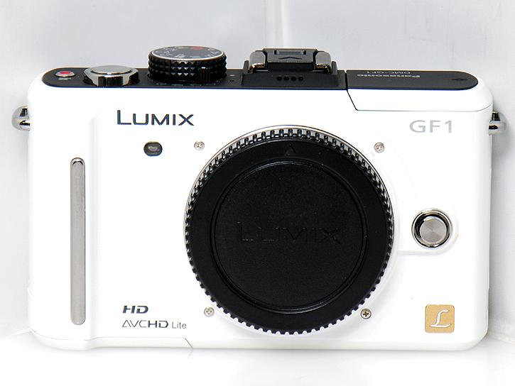 DMC-GF1 (ホワイト)