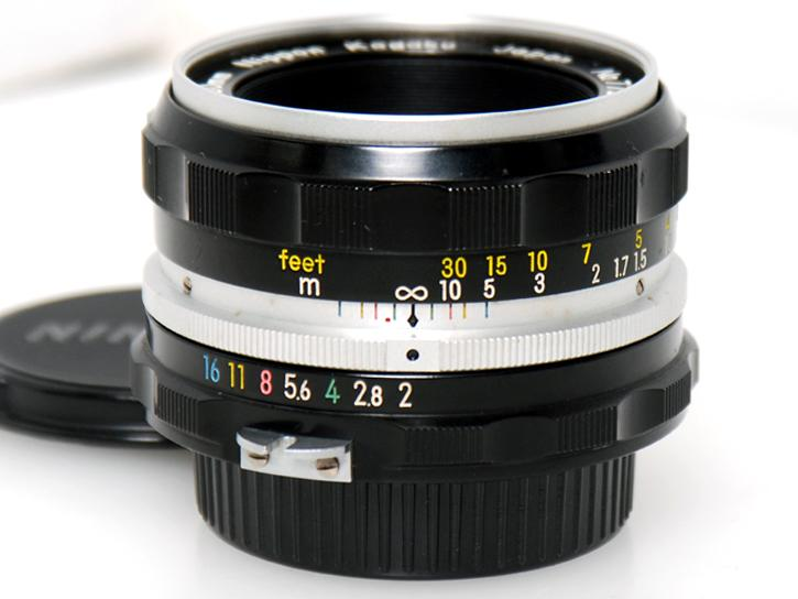 ニッコールHオート50mm F2 (非Ai)
