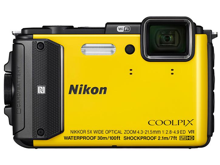 COOLPIX AW130 イエロー 新品