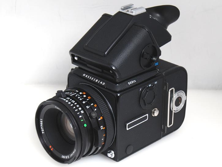 503CX(ブラック) CF80mm F2.8・PME51付