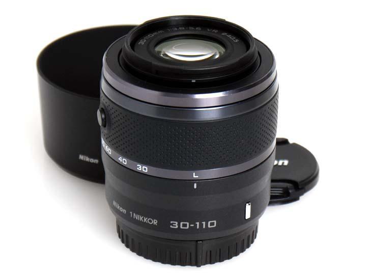 1用 NIKKOR VR 30-110mm f/3.8-5.6(ブラック)