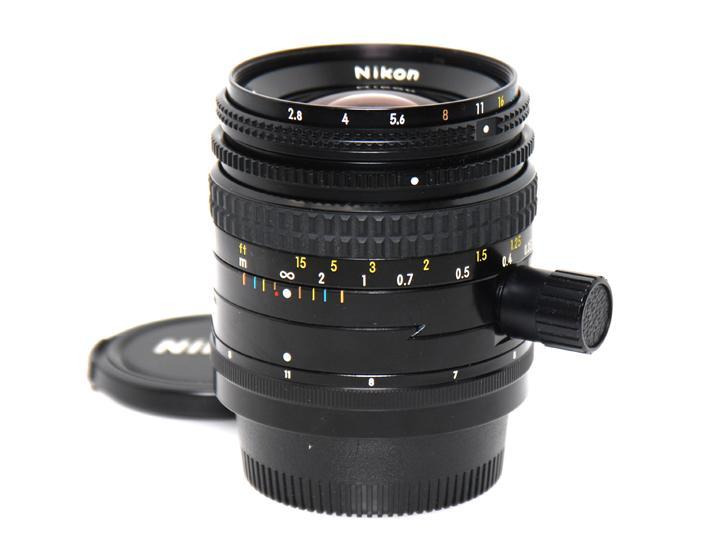 PCニッコール 35mm F2.8 N