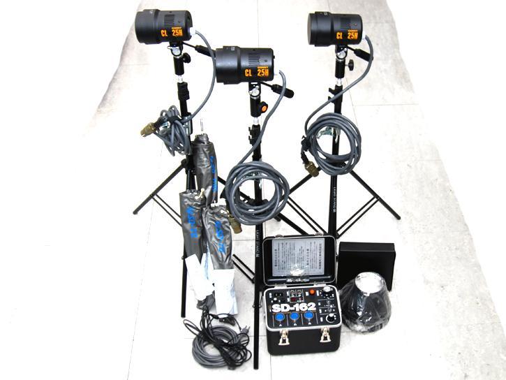 コメット CL-25H SD光機 SD-162 三灯セット