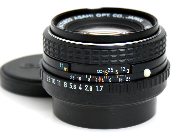 SMCP-M 50mm F1.7