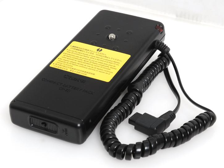 コンパクトバッテリーパック CP-E3(580EX・550EX・MR-14EX・MT-24EX対応)