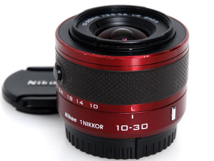 1 NIKKOR VR 10-30mm f/3.5-5.6  【レッド】