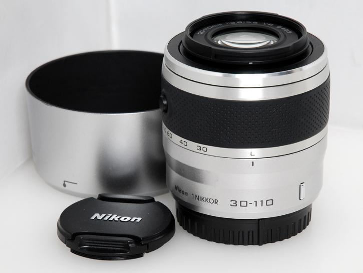 1用 NIKKOR VR 30-110mm f/3.8-5.6 (シルバー)
