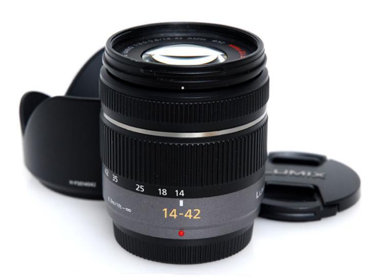 LUMIX G VARIO 14-42mm/F3.5-5.6 ASPH./MEGA O.I.S. H-FS014042