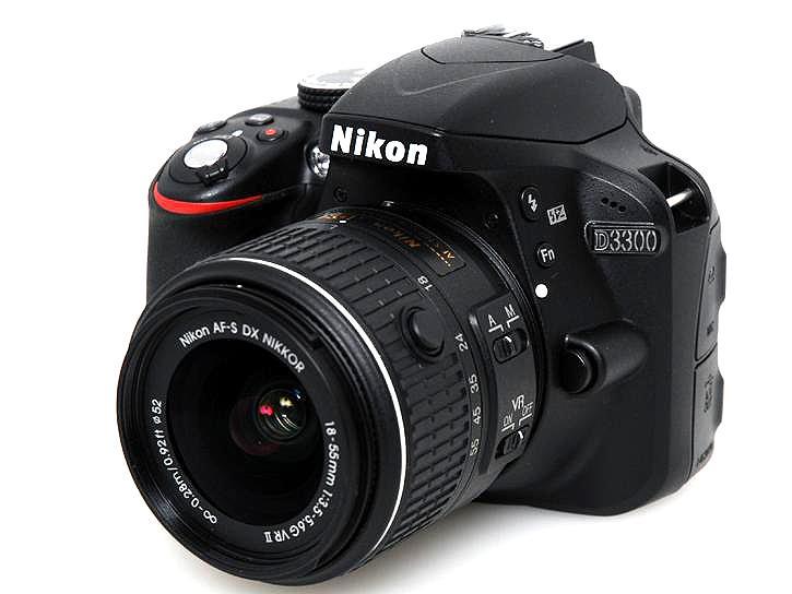 D3300 18-55 VR II レンズキット ブラック