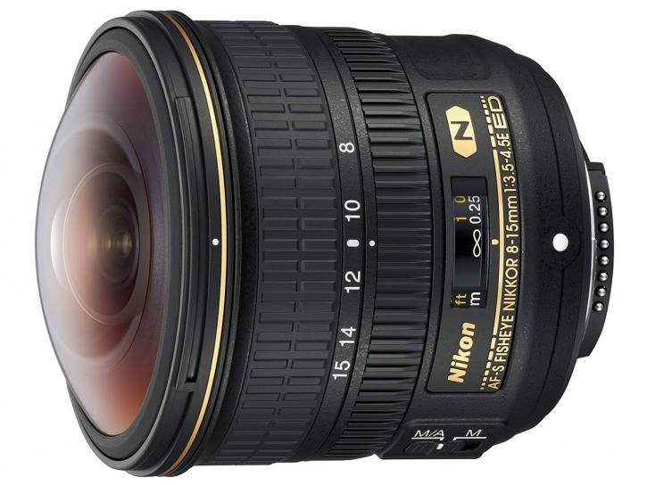 AF-S Fisheye NIKKOR 8-15mm f/3.5-4.5E ED 新品