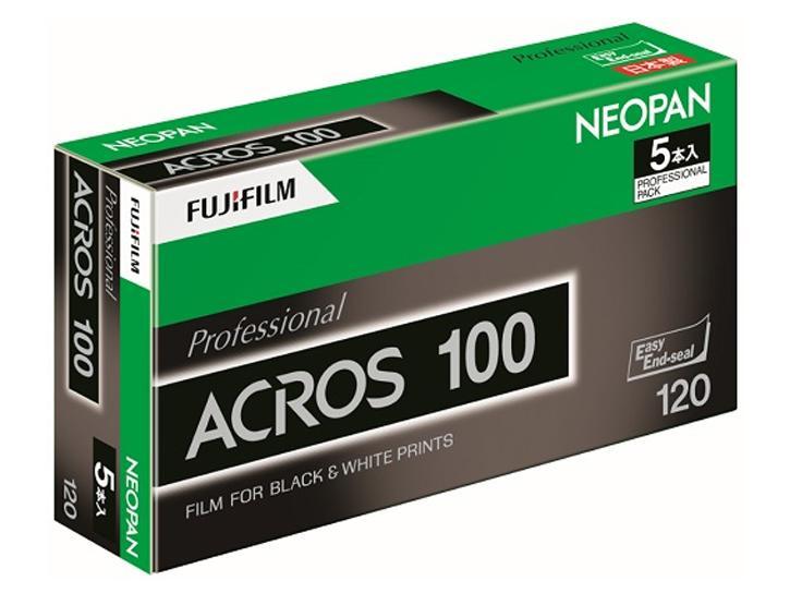 ACROS100 12EX 5P [ネオ120サイズ)12枚撮 5本パック] 新品パン100ACROS(