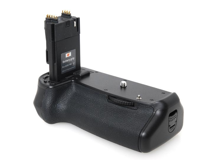 バッテリーグリップ 互換品(EOS70D・EOS80D用)