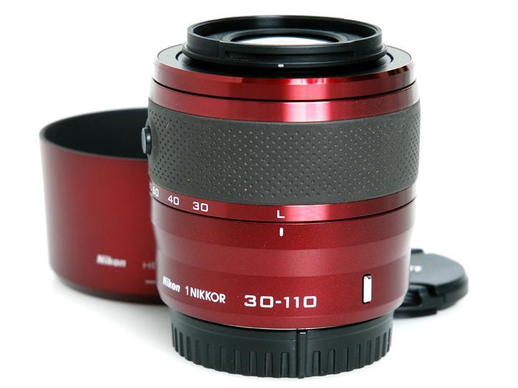 1用 NIKKOR VR 30-110mm f/3.8-5.6 (赤)