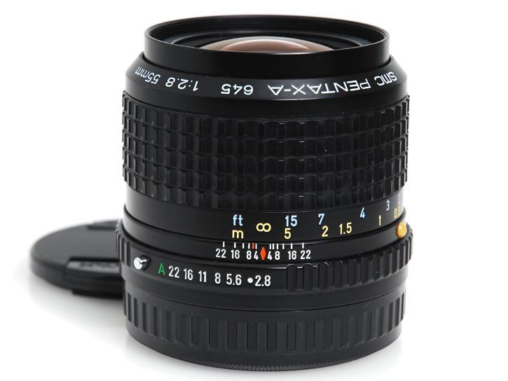 645用 A55mm F2.8