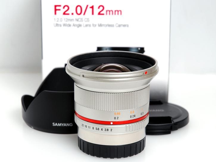 12mm F2.0 NCS CS (シルバー) [フジXFマウント用]
