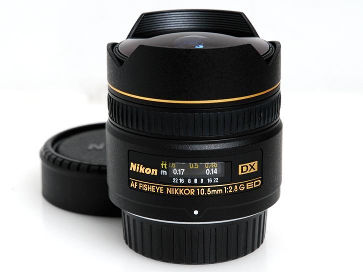 AF DX フィッシュアイNikkor ED 10.5mm F2.8G