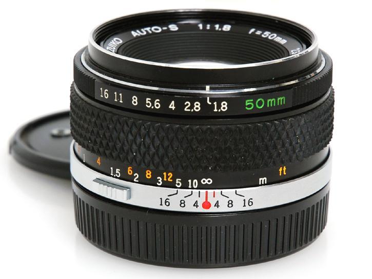OM Fズイコー50mm F1.8