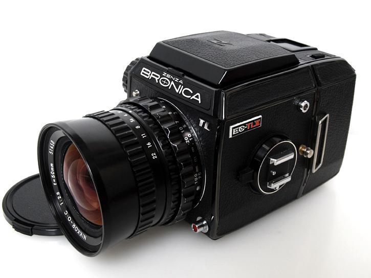 EC-TLII ニッコール50mm F2.8付