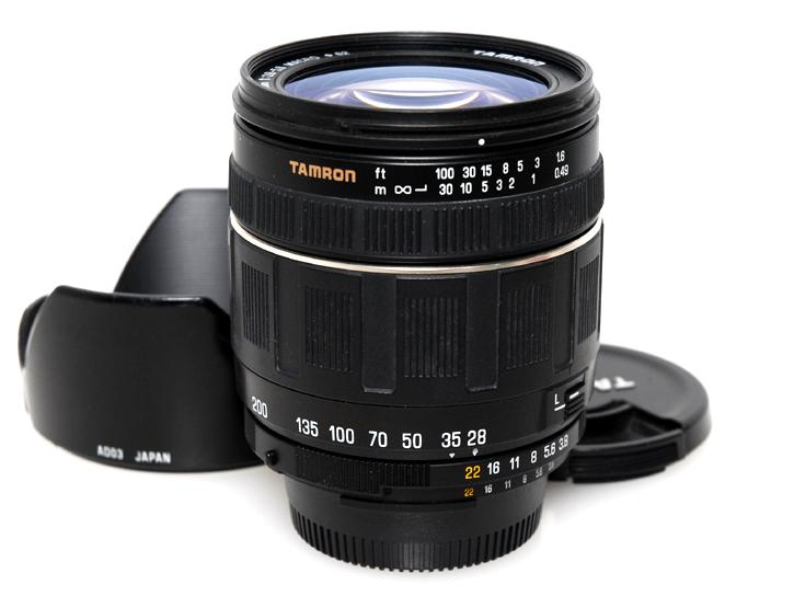 "AF28-200mm F3.8-5.6マクロ XR ""A03"" (ニコンマウント)"