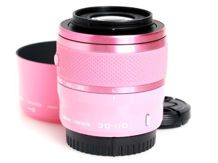 1用 NIKKOR VR 30-110mm f/3.8-5.6 (ピンク)