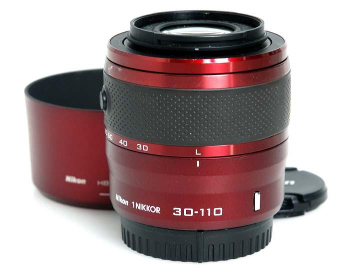 1 NIKKOR VR 30-110mm f/3.8-5.6 (赤)