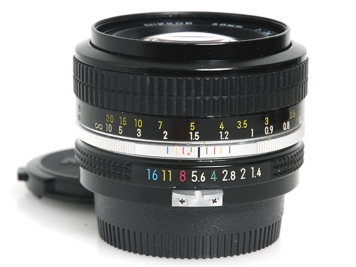 ニッコール50mm F1.4(非Ai)