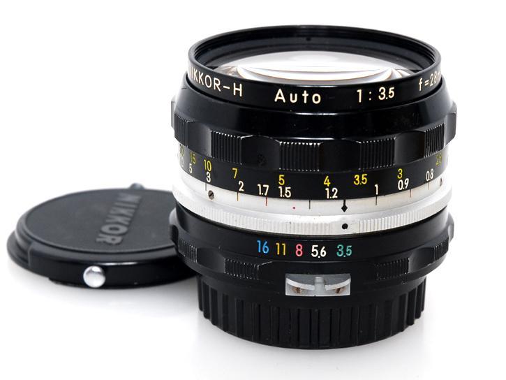 オートニッコールH 28mm F3.5